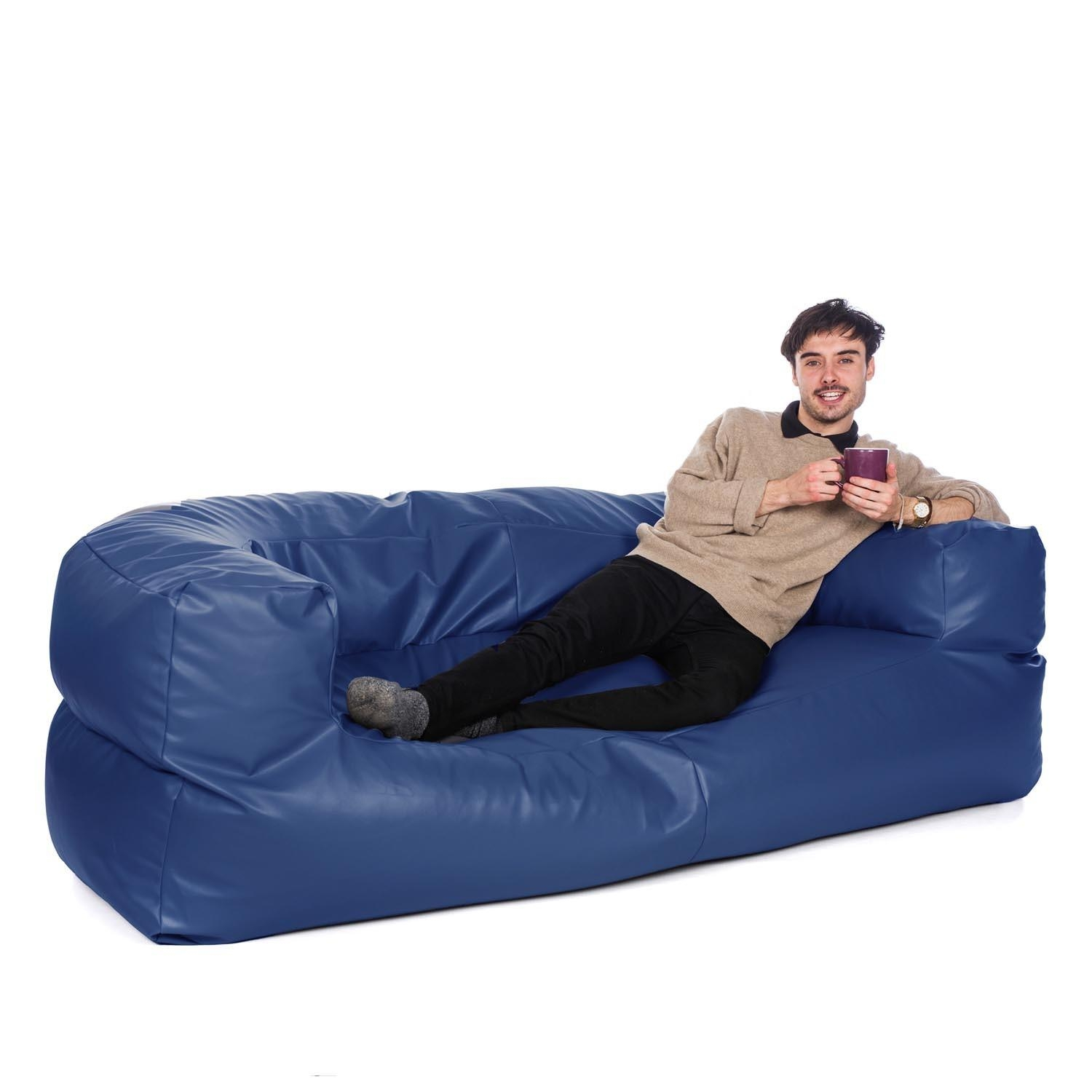 Huge Bean Bag Sofa – Leather Sectional Sofa Inside Bean Bag Sofa Chairs (Image 16 of 20)