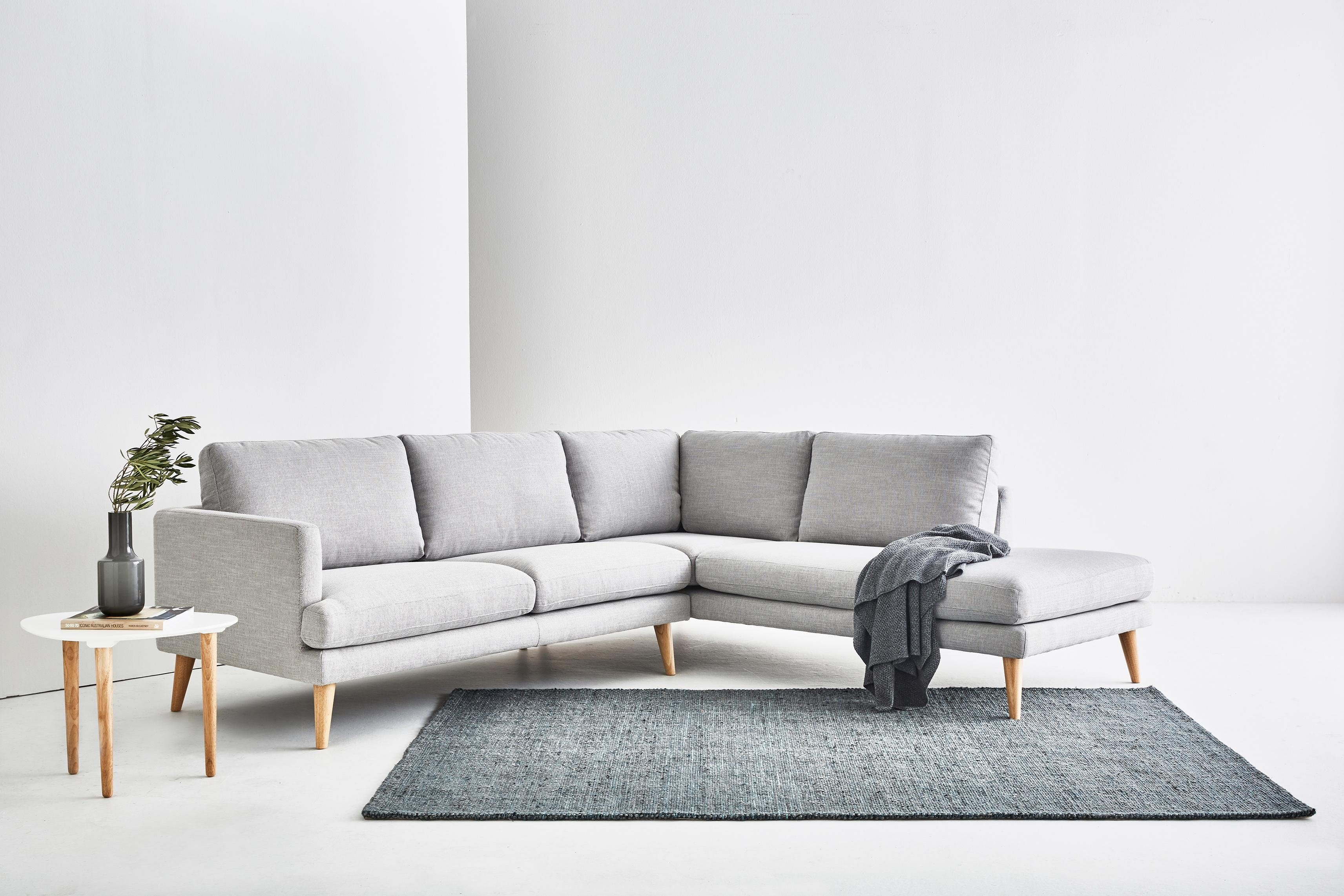 Hugo – Corner Sofa | Loungelovers Throughout Long Chaise Sofa (Image 8 of 20)