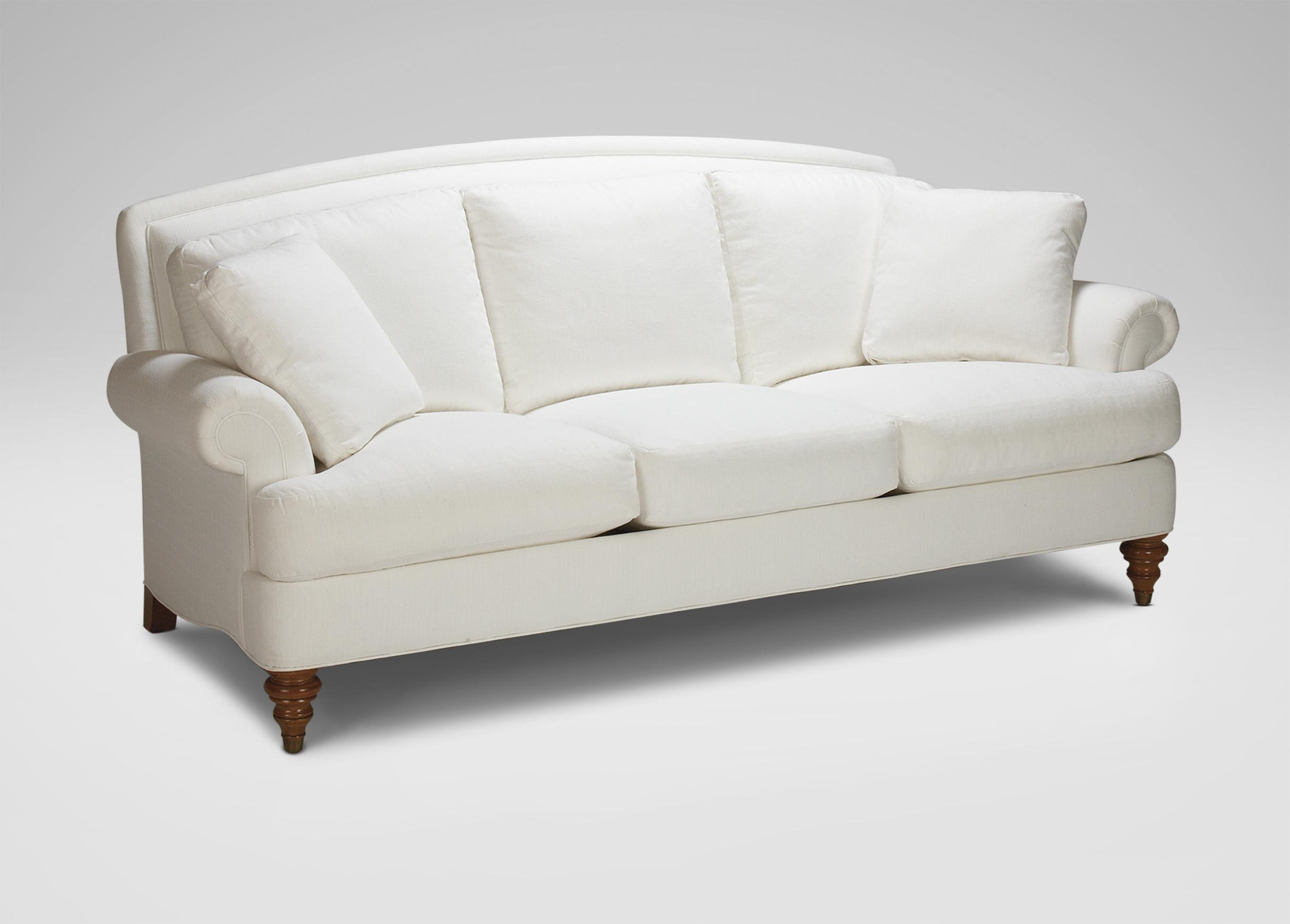 Hyde Three Cushion Sofa | Sofas & Loveseats Inside Ethan Allen Sofas And Chairs (Image 12 of 20)