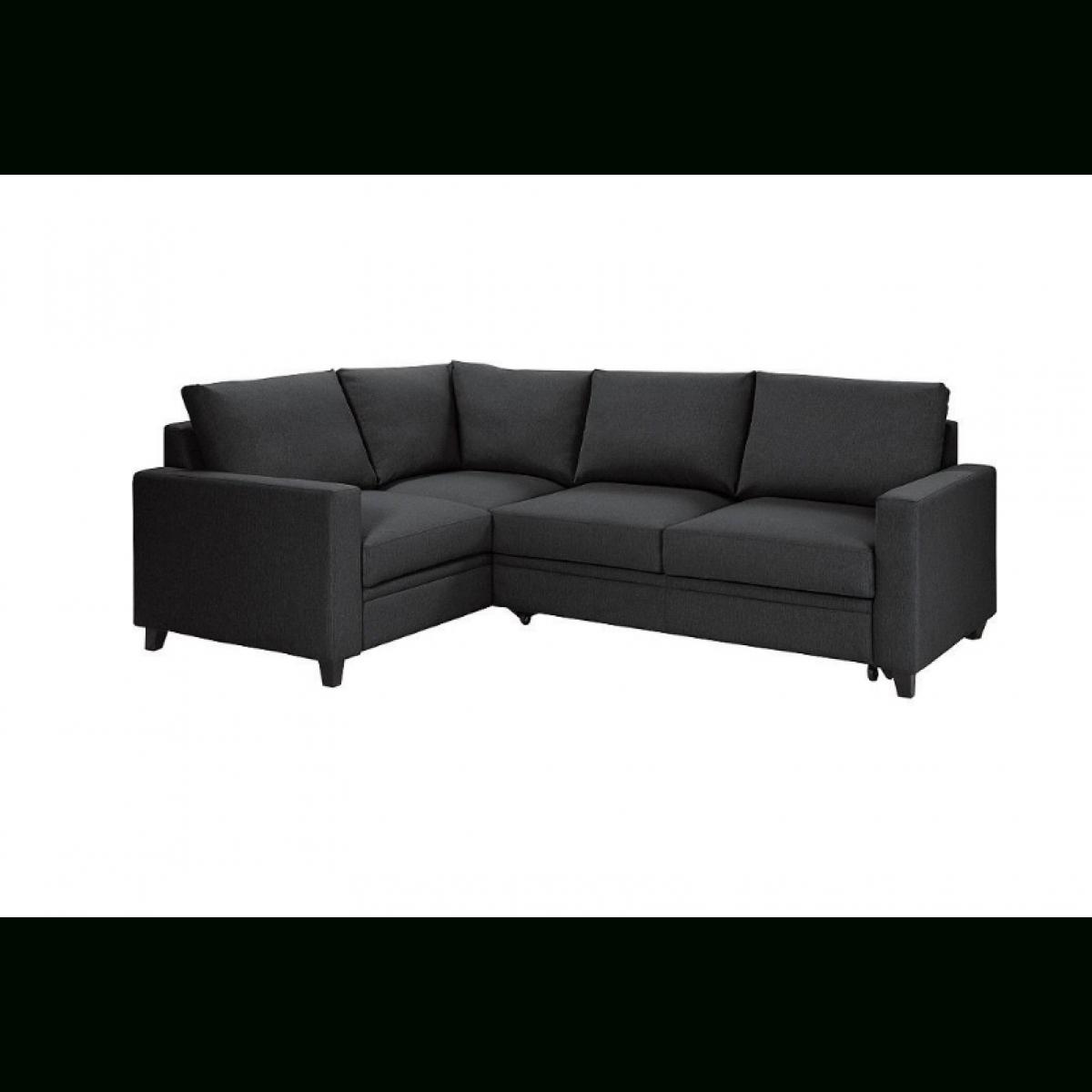 Hygena Seattle Fabric Left Hand Corner Sofa Bed – Charcoal Inside Corner Sofa Beds (View 15 of 20)