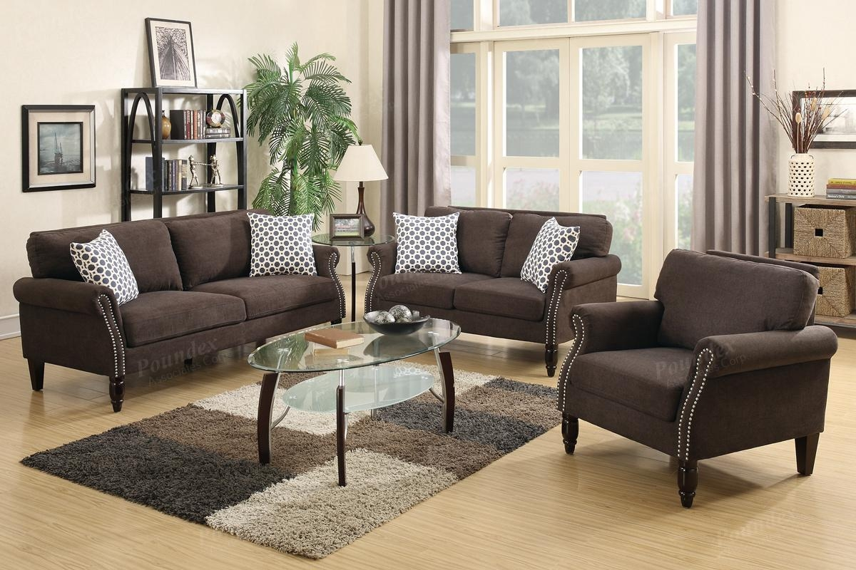 Hypnos Brown Fabric Sofa Loveseat And Chair Set – Steal A Sofa For Sofa Loveseat And Chair Set (Image 11 of 20)