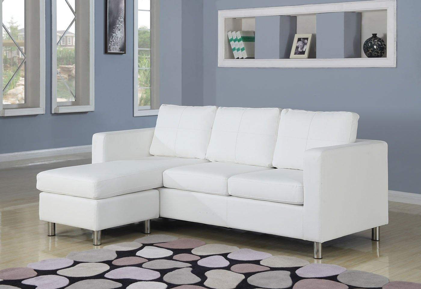 Ideal Small Sectional Sofa — Interior Home Design Regarding Small Scale Leather Sectional Sofas (Image 6 of 20)