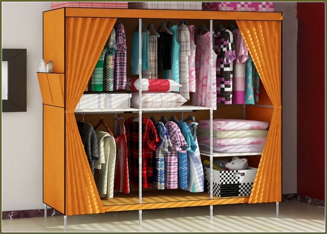 Ideas: Beautiful Portable Closets Home Depot With Small And Big Intended For On The Go With A Portable Wardrobe Closet (Image 7 of 27)
