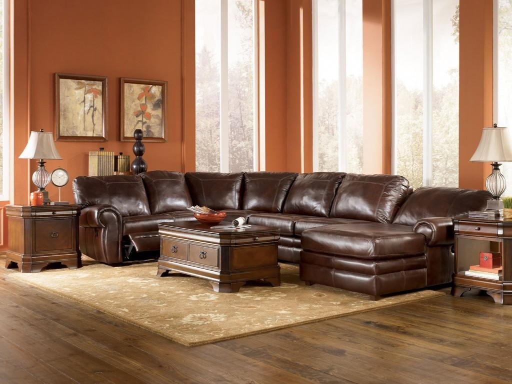 Ideas For Large Room And Sectional Couch Lavish Home Design Within Huge Leather Sectional (View 17 of 20)
