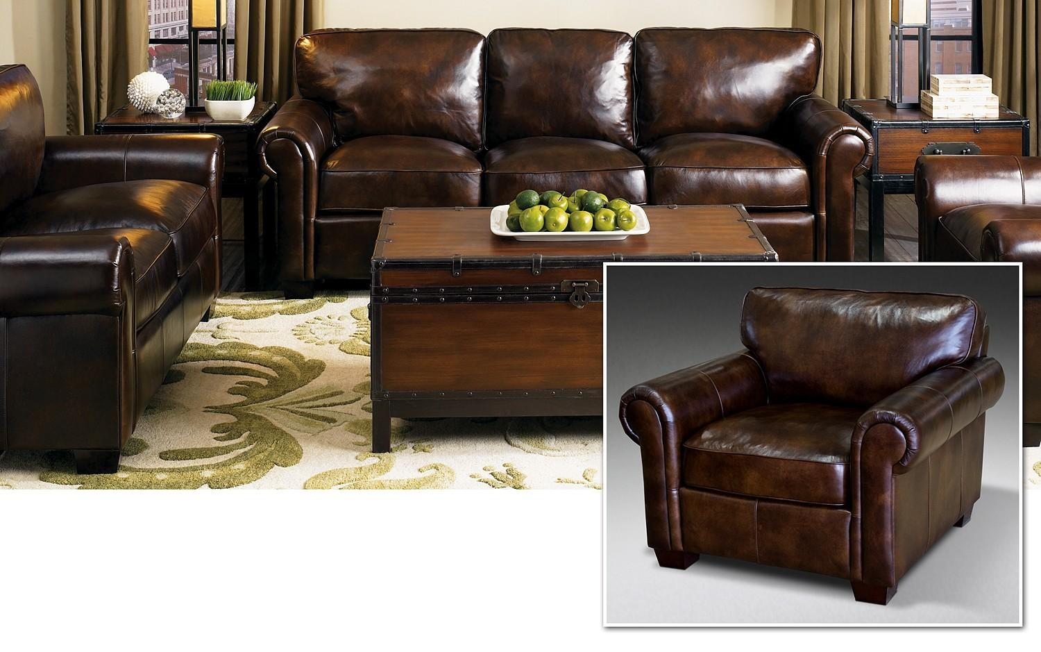 Ikea Leather Couch | Thelotteryhouse in Cindy Crawford Sectional Sofas