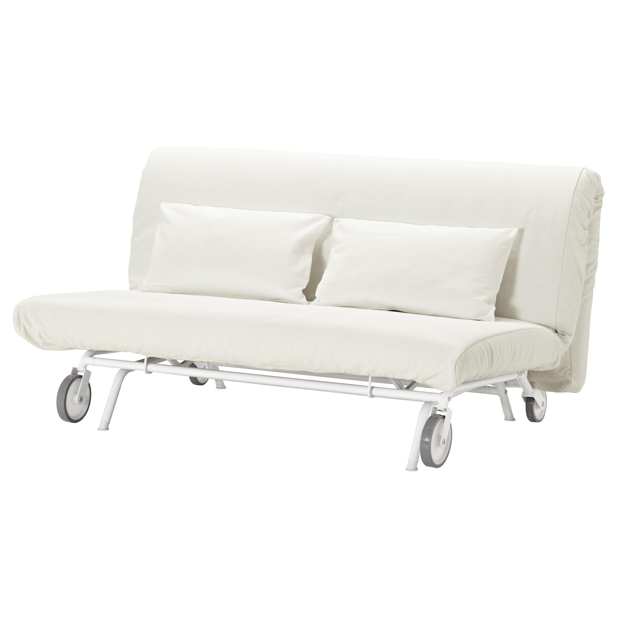 Ikea Ps Håvet Two Seat Sofa Bed Gräsbo White – Ikea Intended For Sofa Chairs Ikea (Image 11 of 20)
