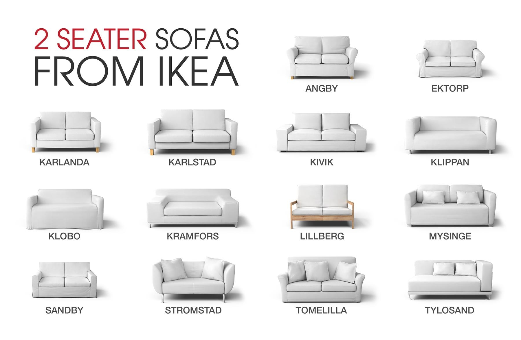 Ikea Sofa Covers For Discontinued Ikea Couch Models with Ikea Two Seater Sofas