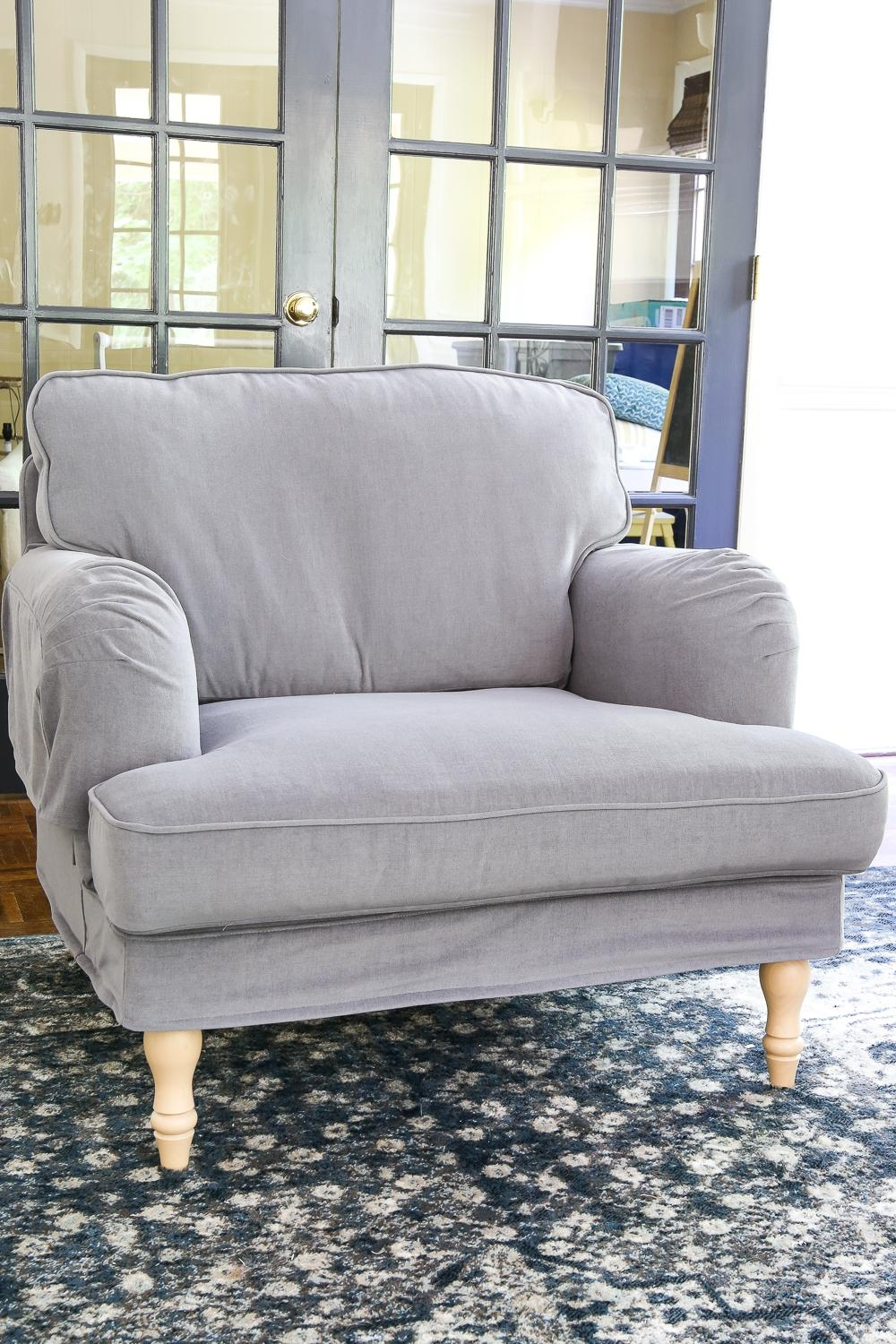Ikea's New Sofa And Chairs And How To Keep Them Clean – Bless'er House Intended For Comfortable Sofas And Chairs (Image 8 of 20)