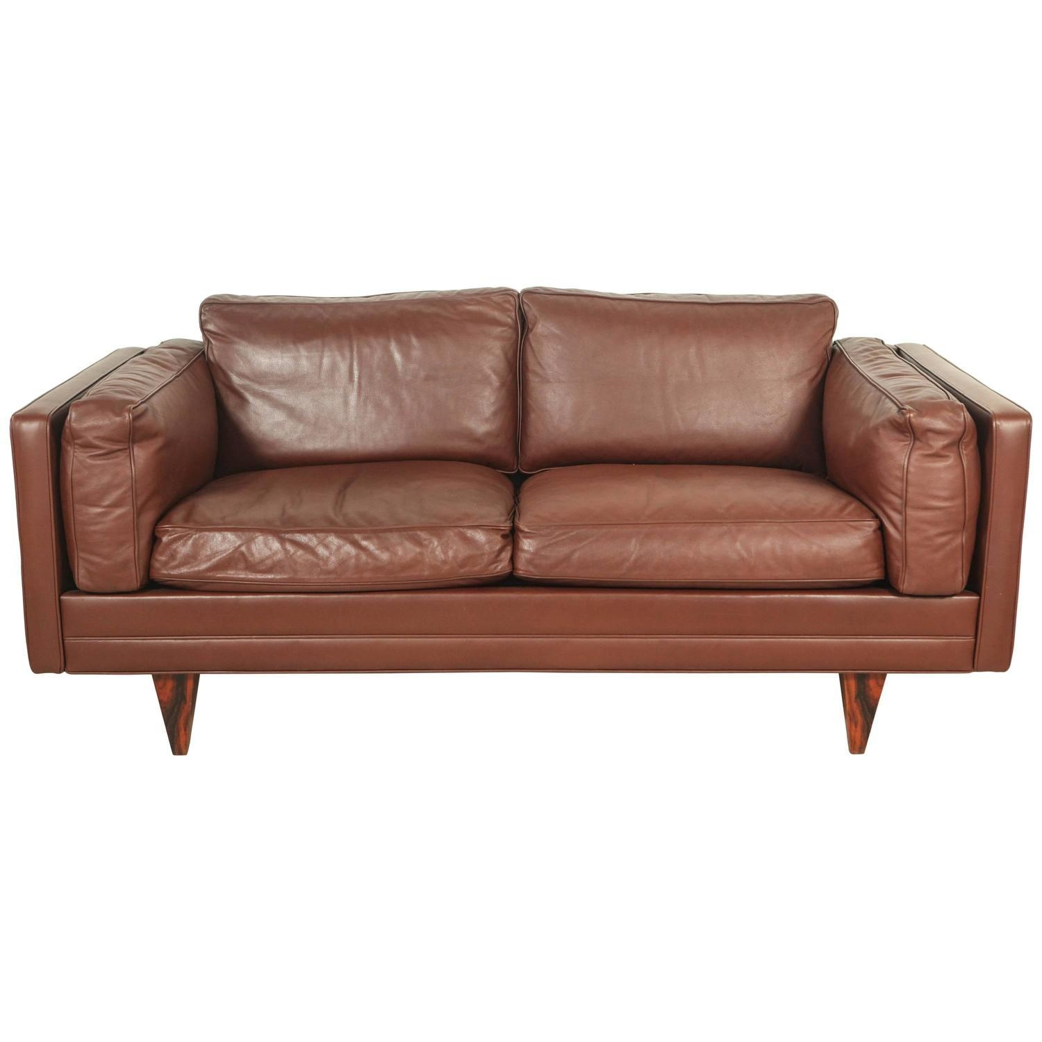 Illum Wikkelsø Style Two Seater Sofa For Sale At 1Stdibs With Two Seater Sofas (Image 10 of 20)