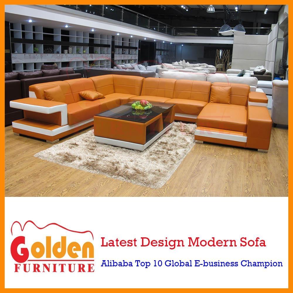 Import Leather Sofa C Shaped Corner Sofa Design A826# – Buy Regarding C Shaped Sofa (View 10 of 20)