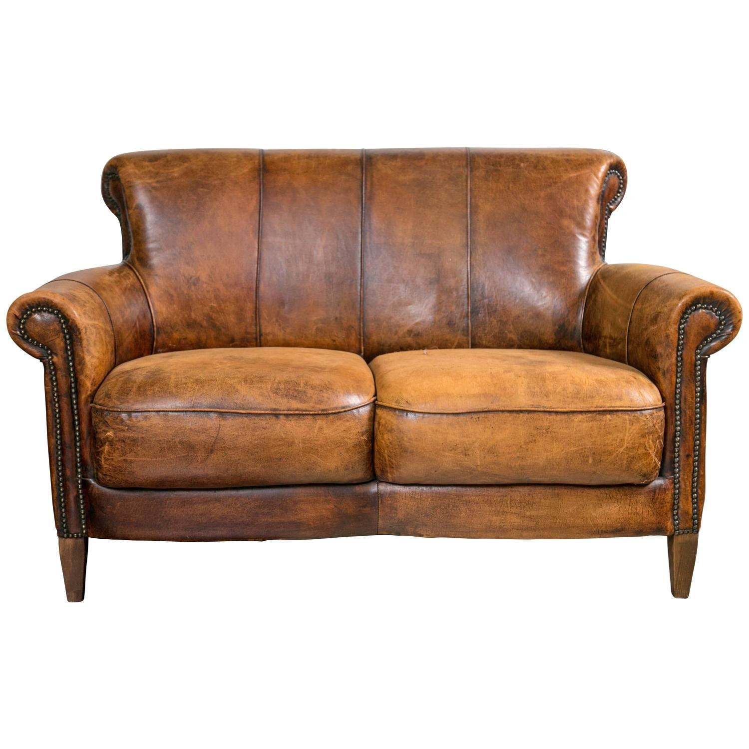 Impressive Distressed Leather Sofa Excellent Distressed Leather Within Awesome Sofa (View 13 of 20)