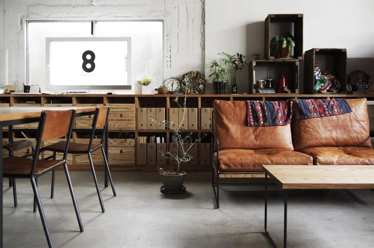 Industrial Decor Ideas & Design Guide – Froy Blog Throughout Vintage Sofa Styles (View 20 of 20)
