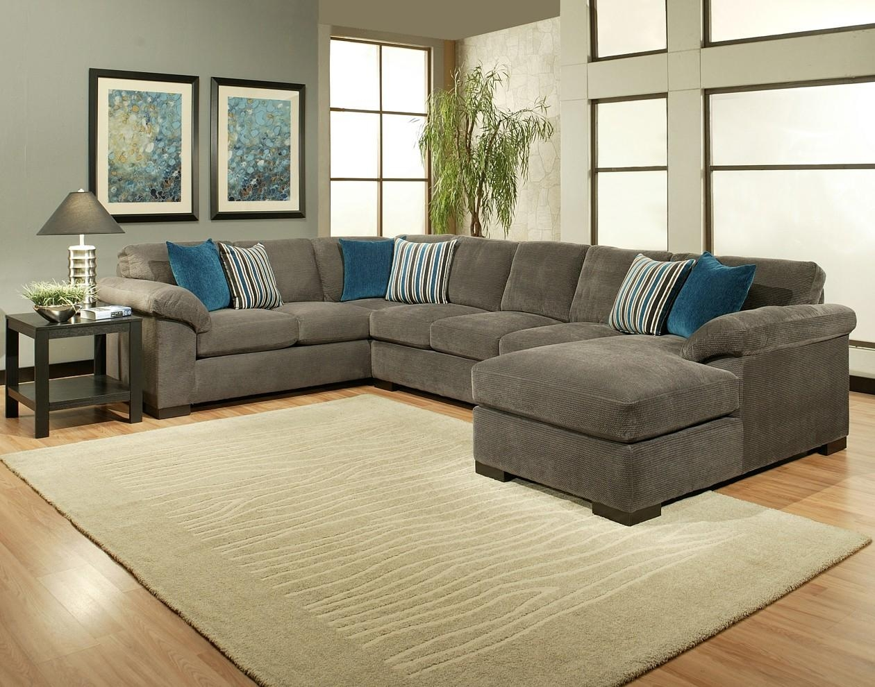 Industries 3 Pc Fire Fly Sectional Sofa Pertaining To Comfortable Sectional (View 7 of 15)