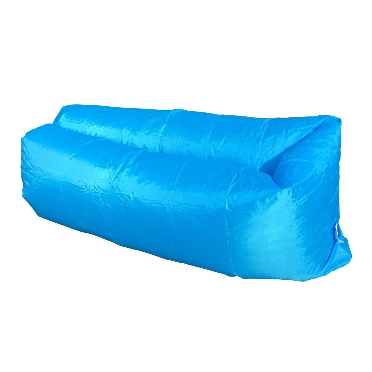Inflatable Sofa Chair Air Bed Luxury Seat Camping Festival Holiday Throughout Inflatable Sofas And Chairs (Image 12 of 20)