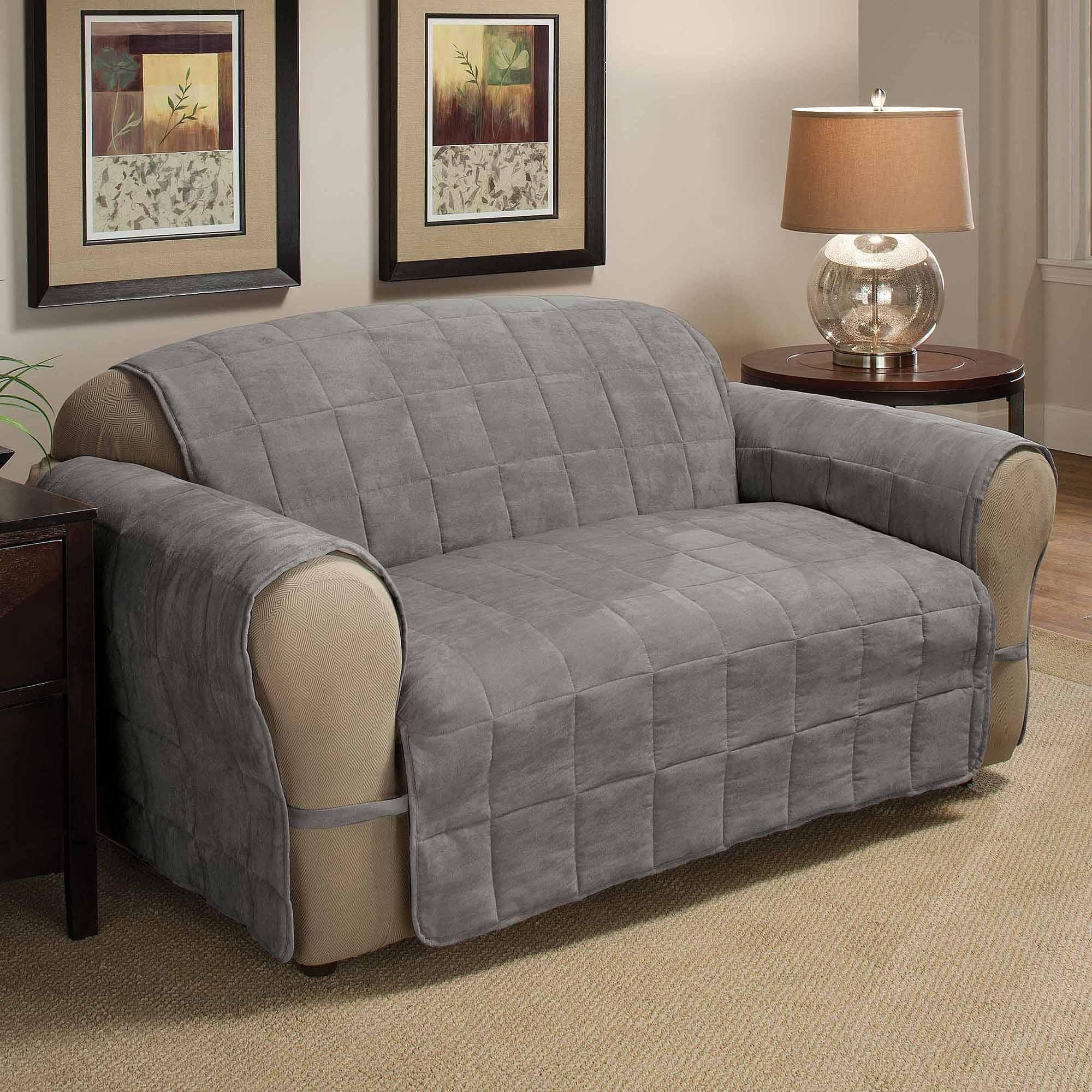 Innovative Textile Solutions Suede Ultimate Furniture Protectors for Suede Slipcovers for Sofas