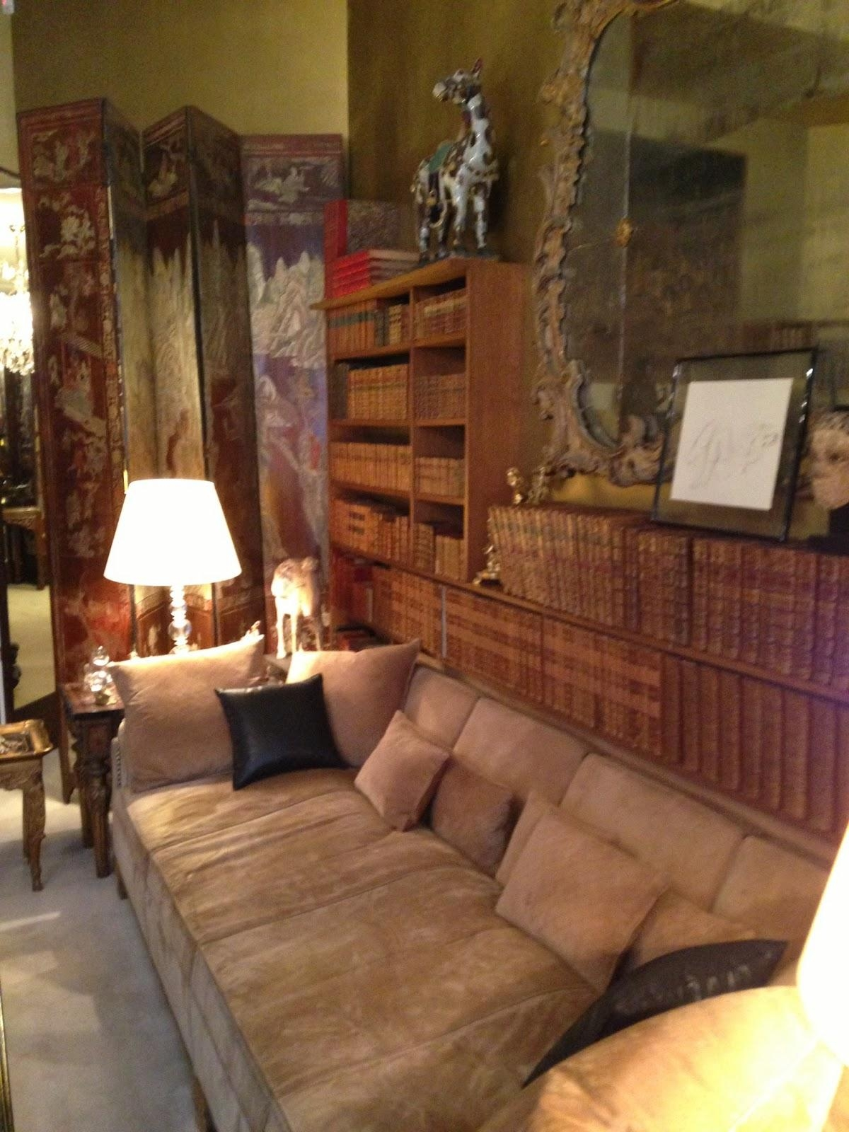 Inside Mlle Gabrielle Coco Chanel's Apartment, 31 Rue Cambon, Paris throughout Coco Chanel Sofas