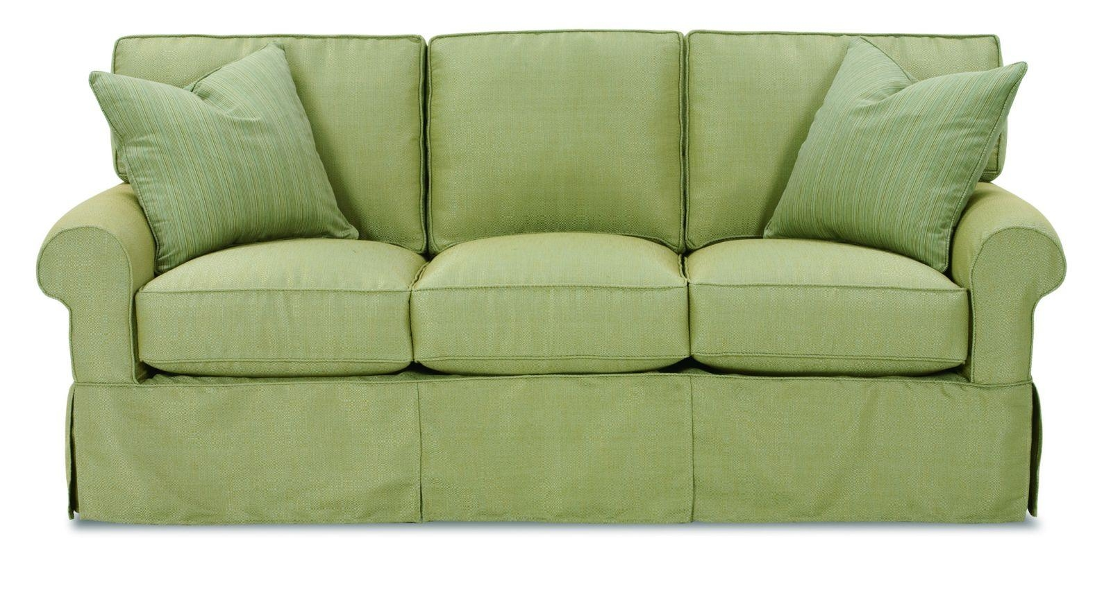 Inspiration Idea Green Sofa Slipcover With Sage Green Loden With Green Sofa Chairs (Image 14 of 20)