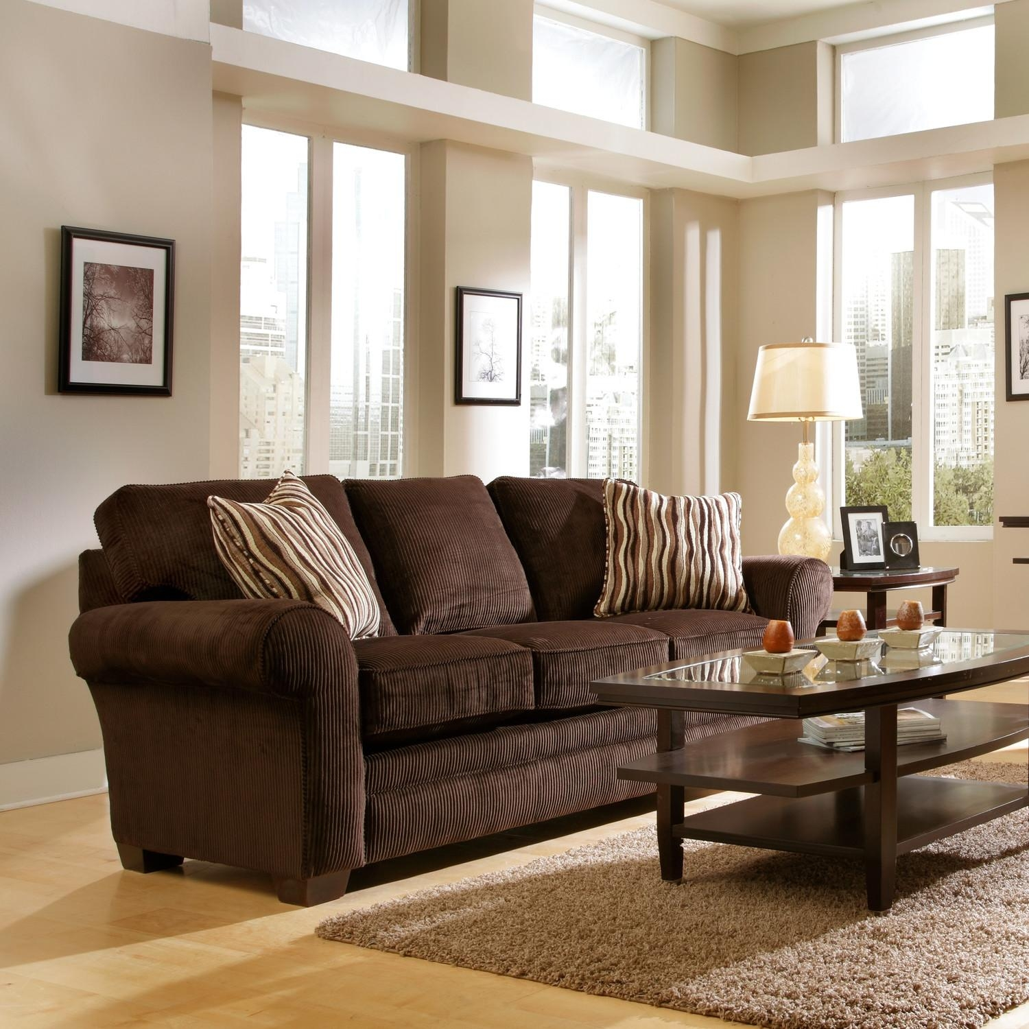 Interesting 90+ Chocolate Brown Sofa Living Room Ideas Decorating In Brown Sofa Decors (Image 14 of 20)