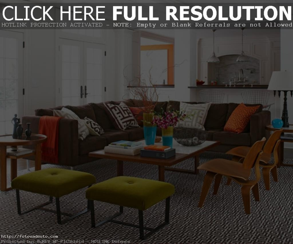 Interesting 90+ Chocolate Brown Sofa Living Room Ideas Decorating In Brown Sofas Decorating (View 11 of 20)