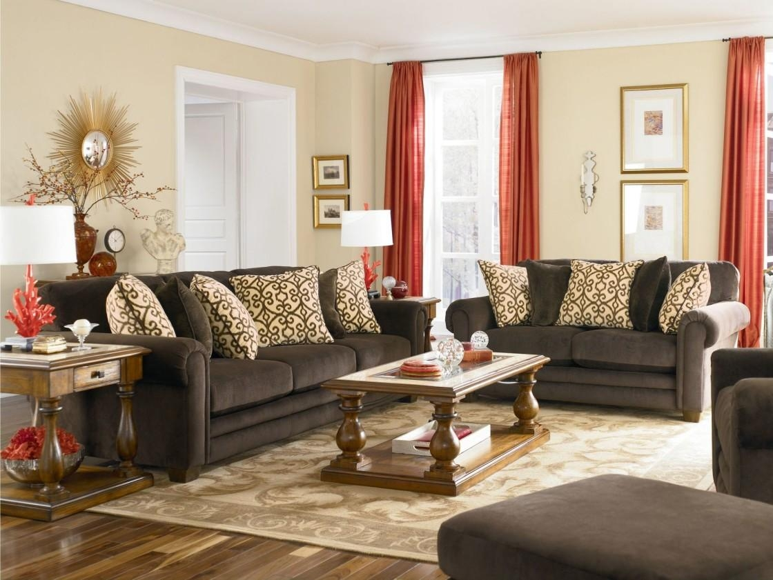 Interesting 90+ Chocolate Brown Sofa Living Room Ideas Decorating Within Brown Sofa Decors (Image 15 of 20)