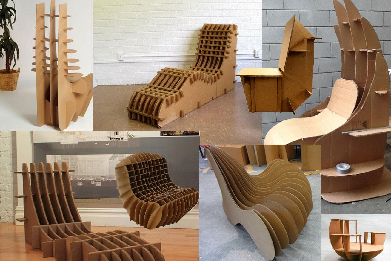 Interesting Cardboard Chairs Design Ideas 33 Best Images About On With Cardboard Sofas (Image 14 of 20)