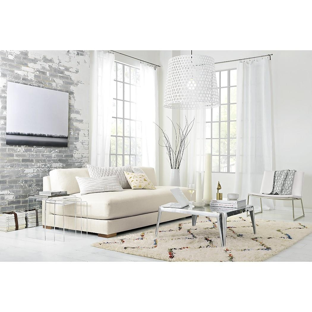 Interesting Cb2 Piazza Sofa 96 For Your Small Room Home Remodel With Regard To Cb2 Piazza Sofas (Image 14 of 20)