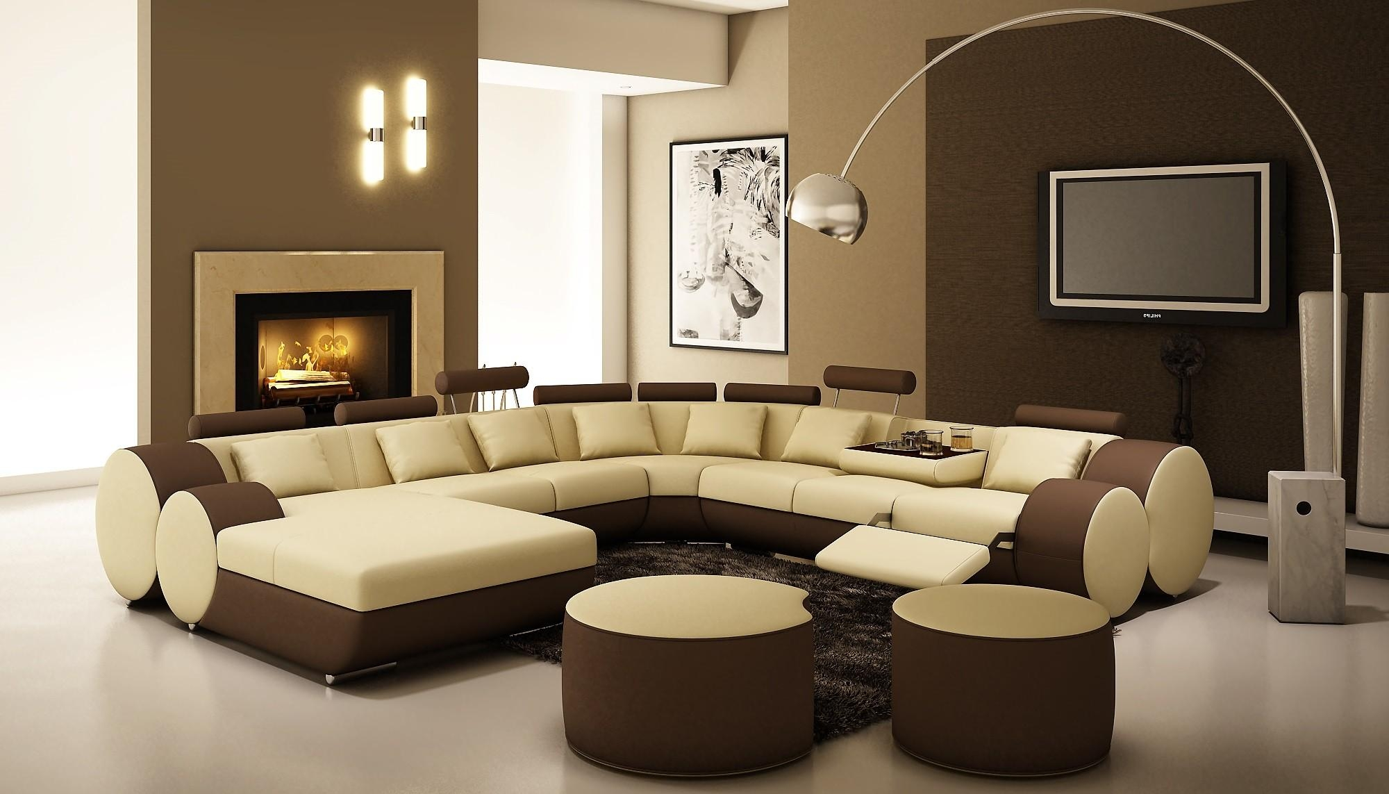 Interesting Interior Design Color Ideas For Living Rooms With With Cream Colored Sofa (View 9 of 20)