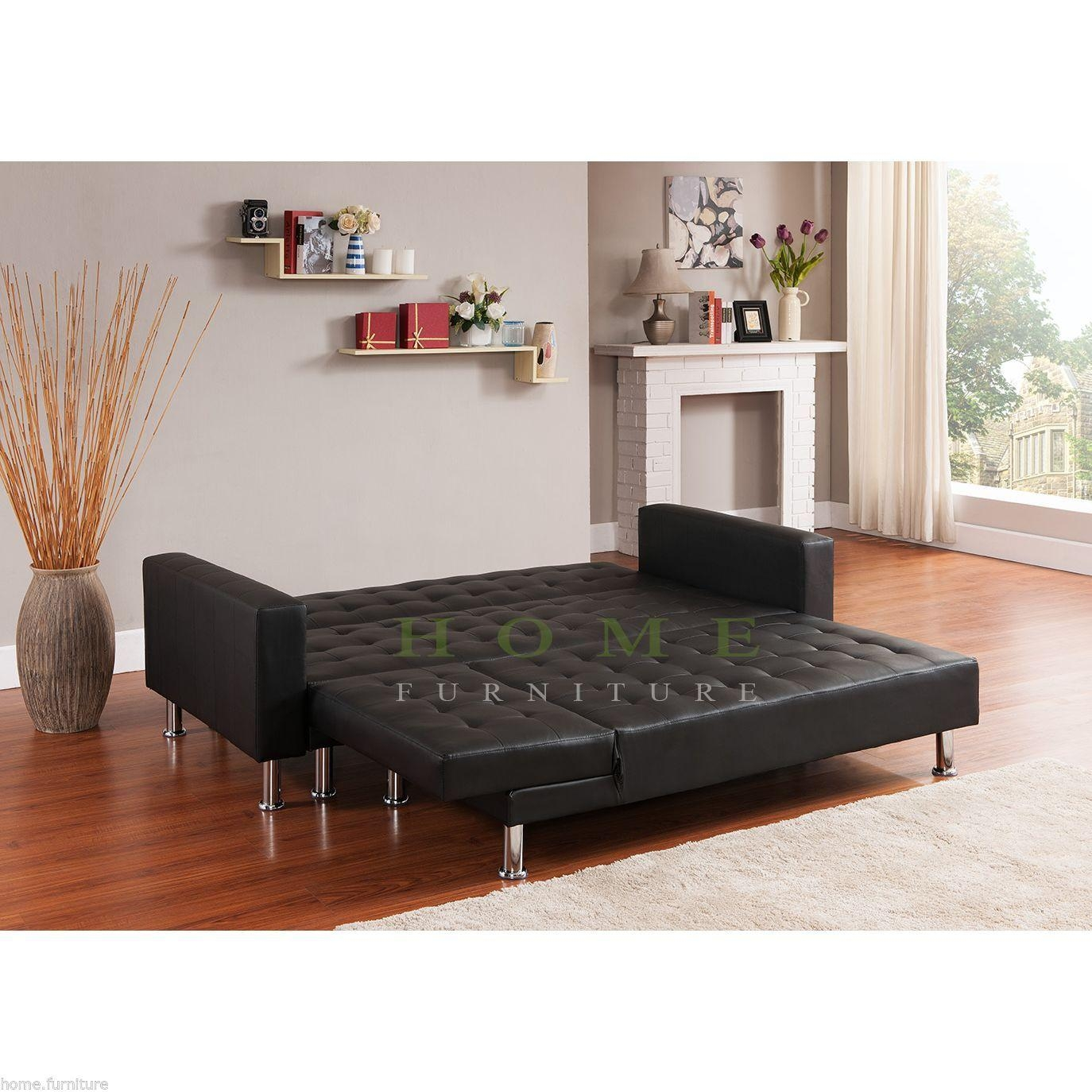Interesting Mies Van Der Rohe Daybed Shaped Corner Sofa Bed Lounge With Regard To Leather Corner Sofa Bed (Image 14 of 20)