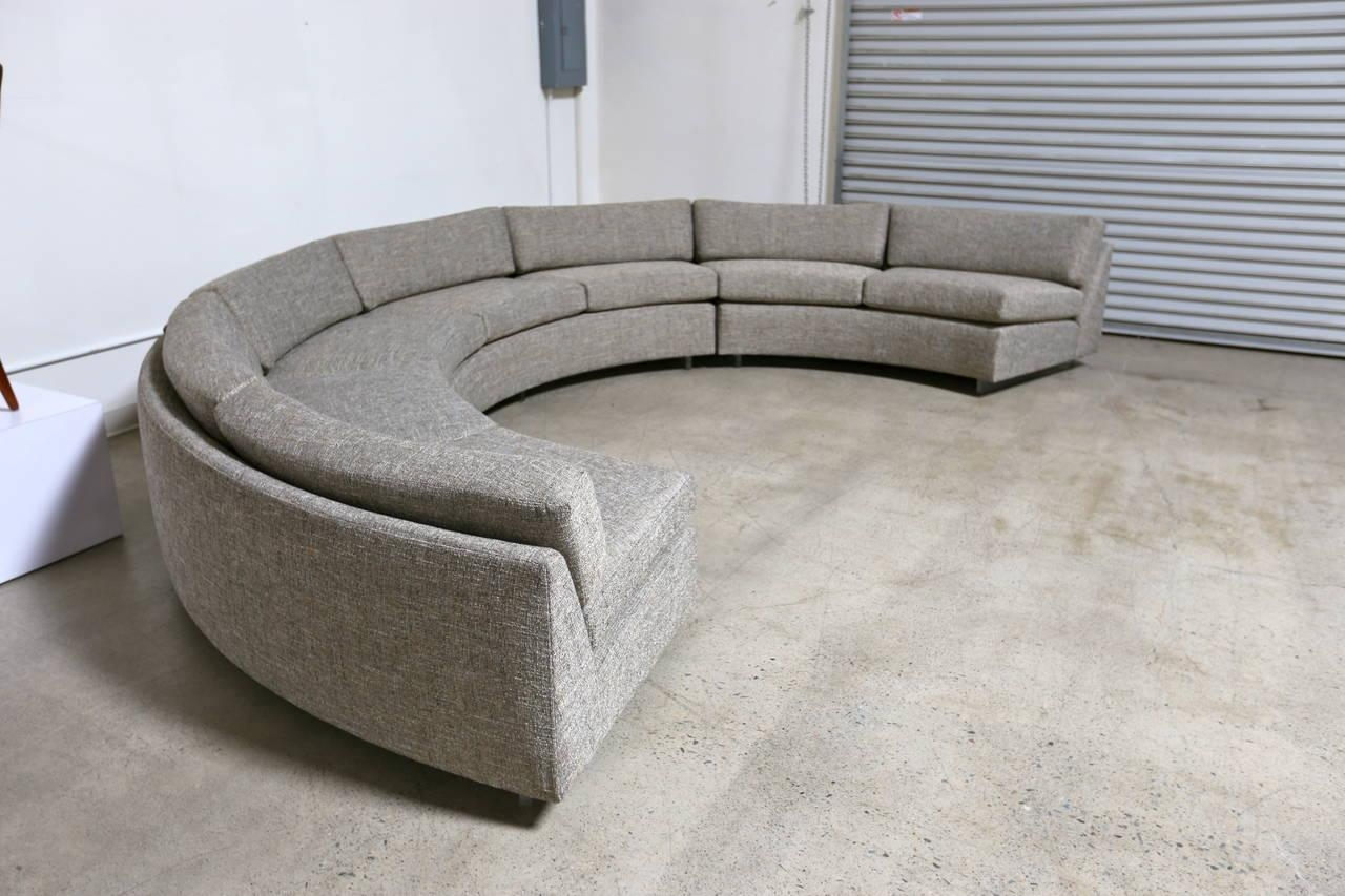 20 choices of semicircular sofa sofa ideas for Semi classic sofa