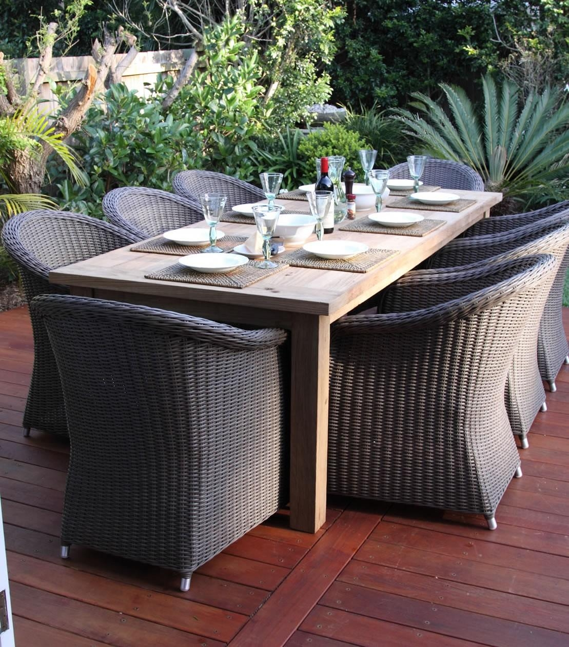Interesting Wicker Outdoor Furniture Clearance A On Ideas For Outdoor Sofas And Chairs (View 17 of 20)