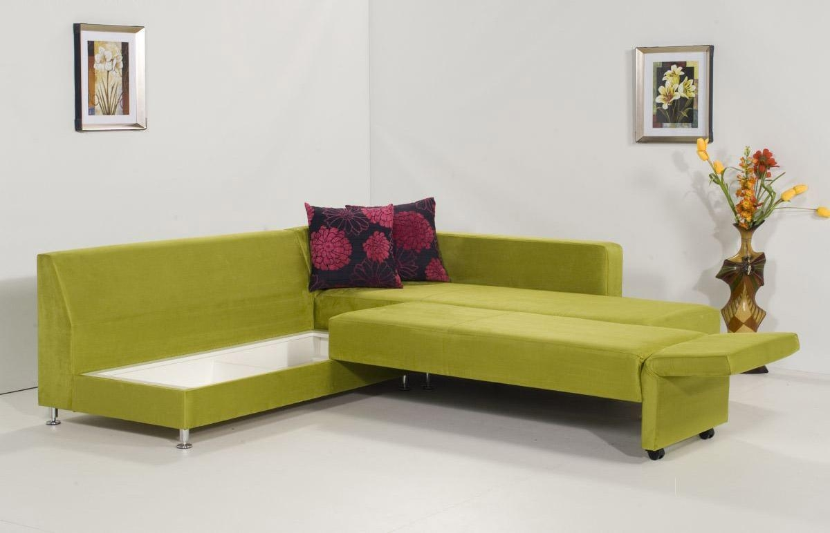 Interior: Appealing L Shaped Sleeper Sofa For Your Living Room Throughout Green Sectional Sofa With Chaise (Image 8 of 15)
