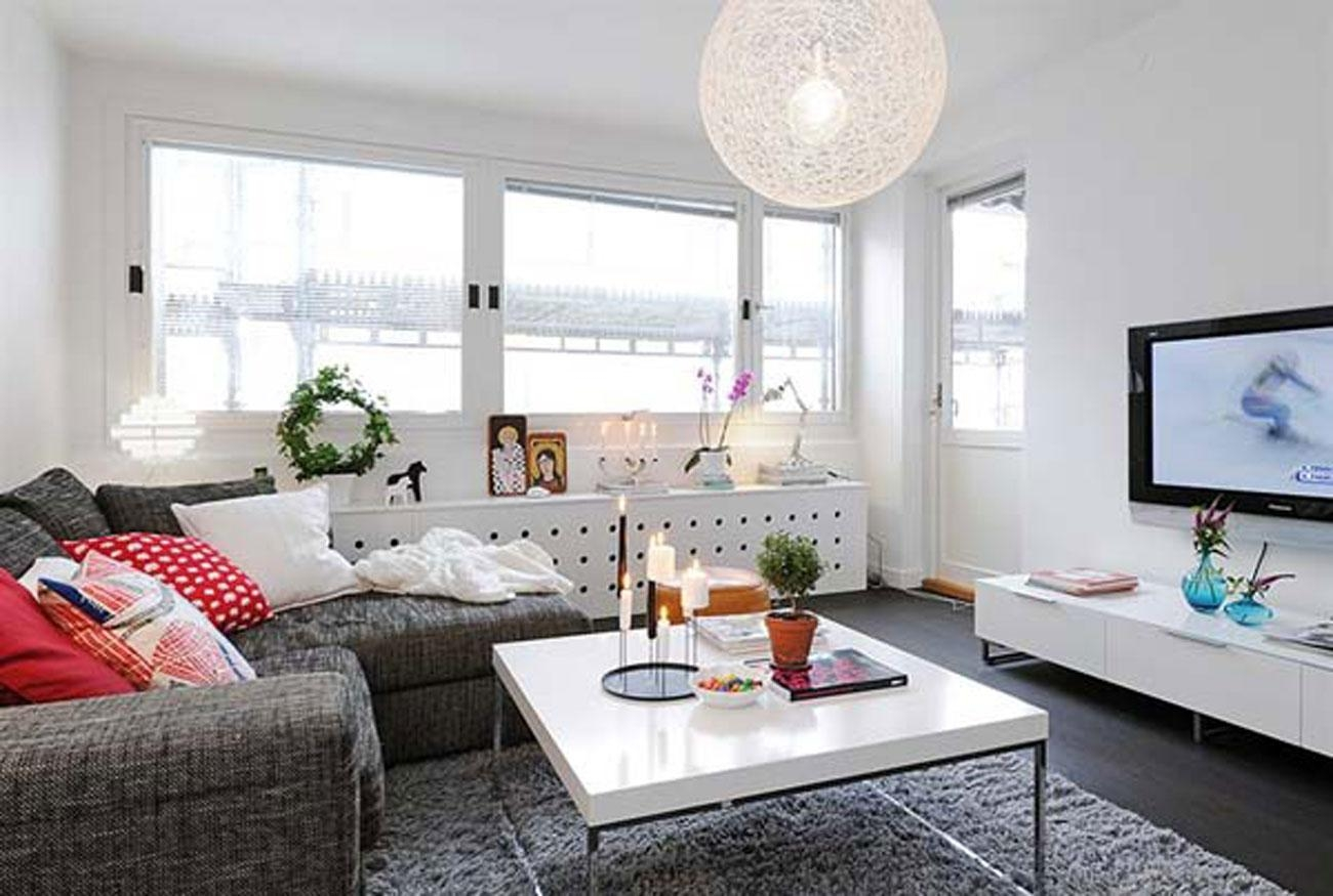 Interior : Decoration Ideas Interior Apartment Furniture Awesome Intended For Sectional Ideas For Small Rooms (Image 10 of 20)