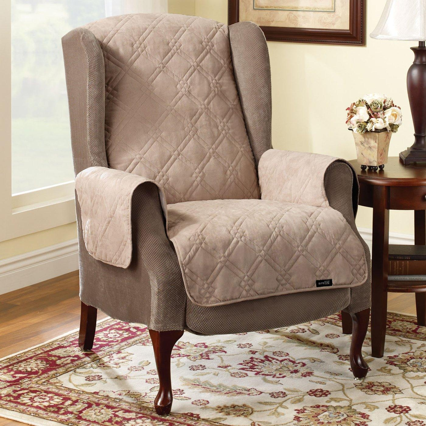 Interior Design Sure Fit® Stretch Pearson Recliner Slipcover Regarding Stretch Covers For Recliners (Image 12 of 20)