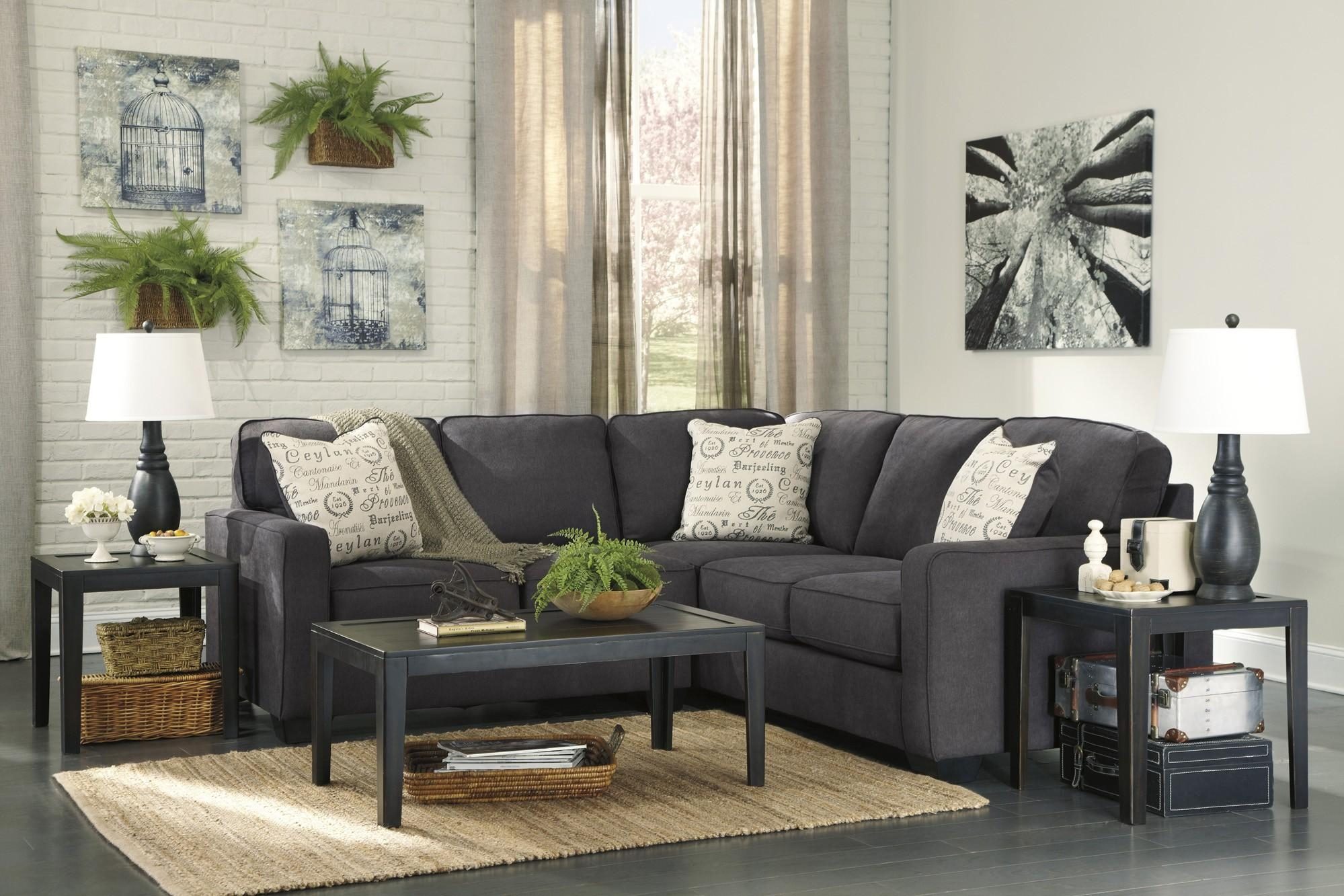 Interior: Gorgeous Lady Charcoal Sectional For Living Room With Regard To Individual Piece Sectional Sofas (Image 10 of 20)