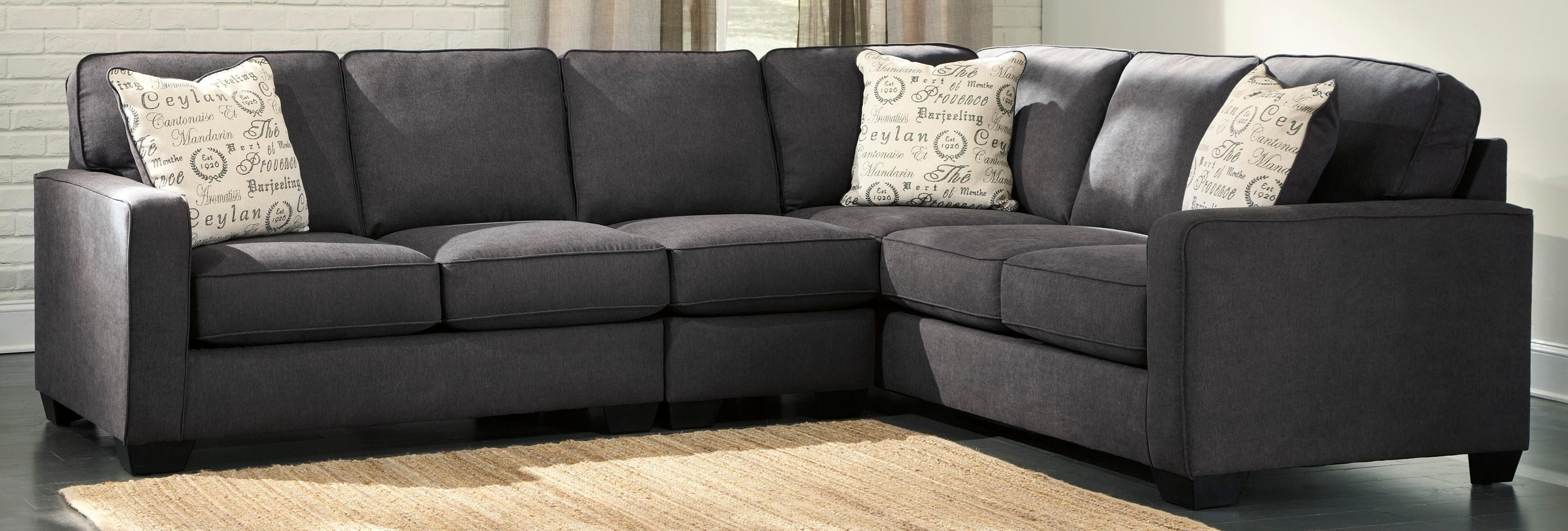 Interior: Gorgeous Lady Charcoal Sectional For Living Room With Regard To Individual Piece Sectional Sofas (Image 9 of 20)