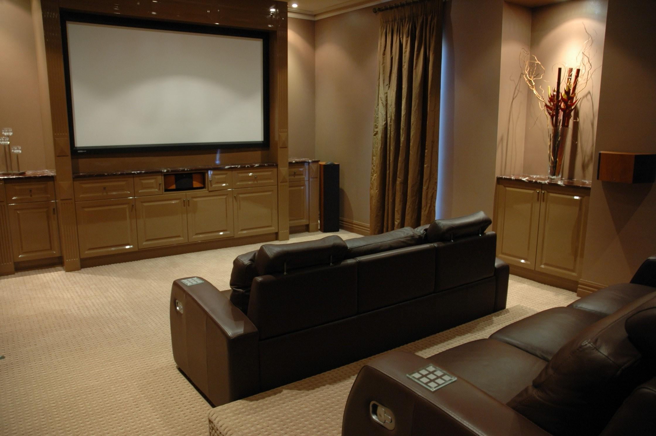 Interior : Home Theater Room Installation County Home Theater Intended For Theater Room Sofas (Image 13 of 20)