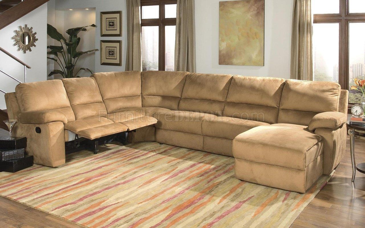 Interior: Impressive Microsuede Sectional Collections Sets For Throughout Leather And Suede Sectional Sofa (Image 13 of 20)