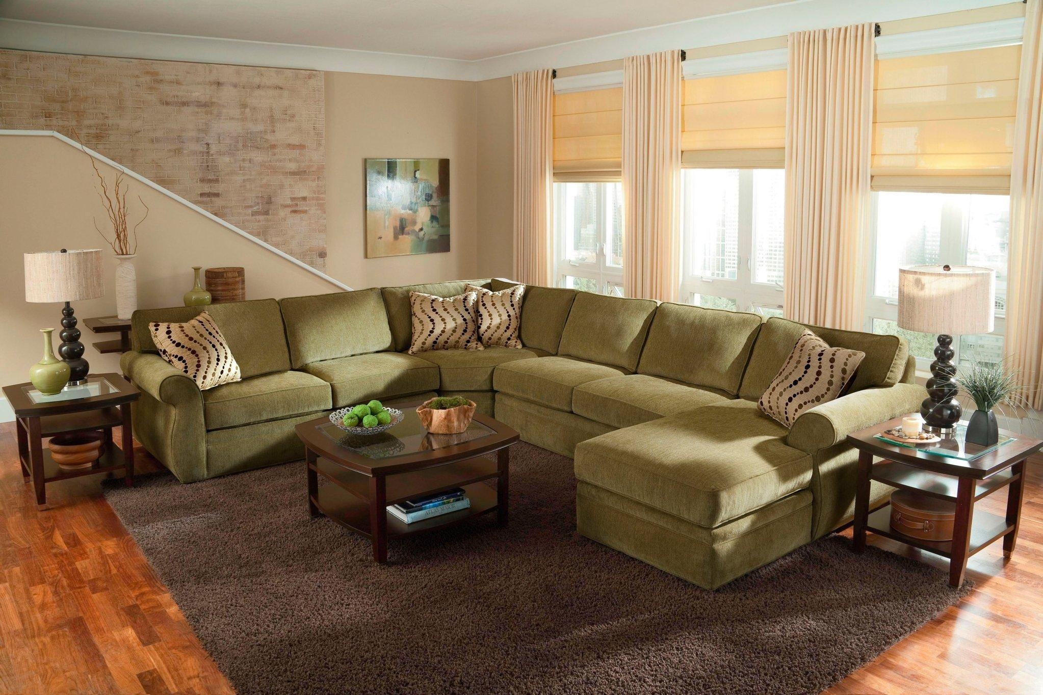 Interior: Luxury Oversized Sectional Sofa For Awesome Living Room With Regard To Huge Sofas (View 10 of 20)