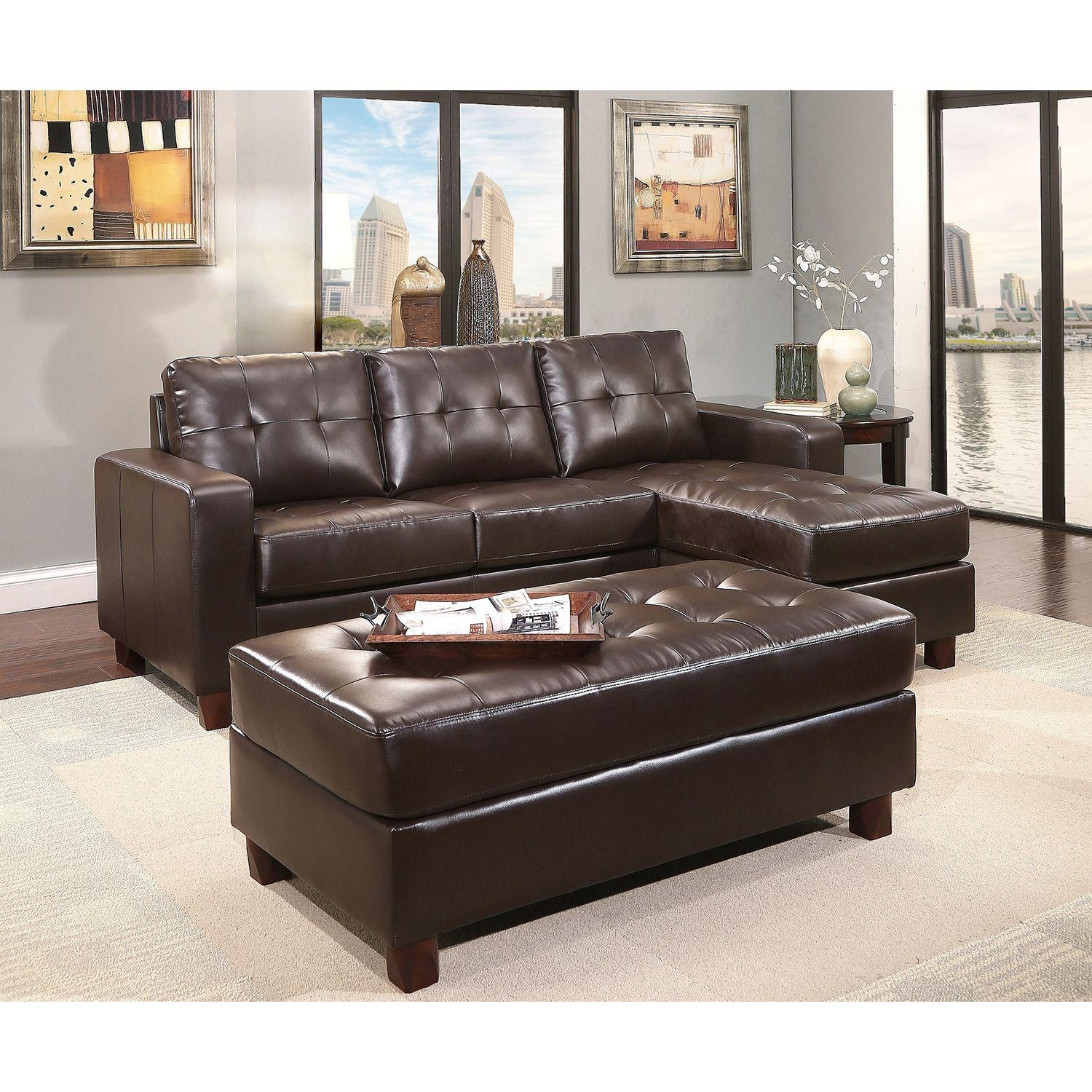 Interior: Luxury Oversized Sectional Sofa For Awesome Living Room Within Sectional With Large Ottoman (Image 7 of 20)