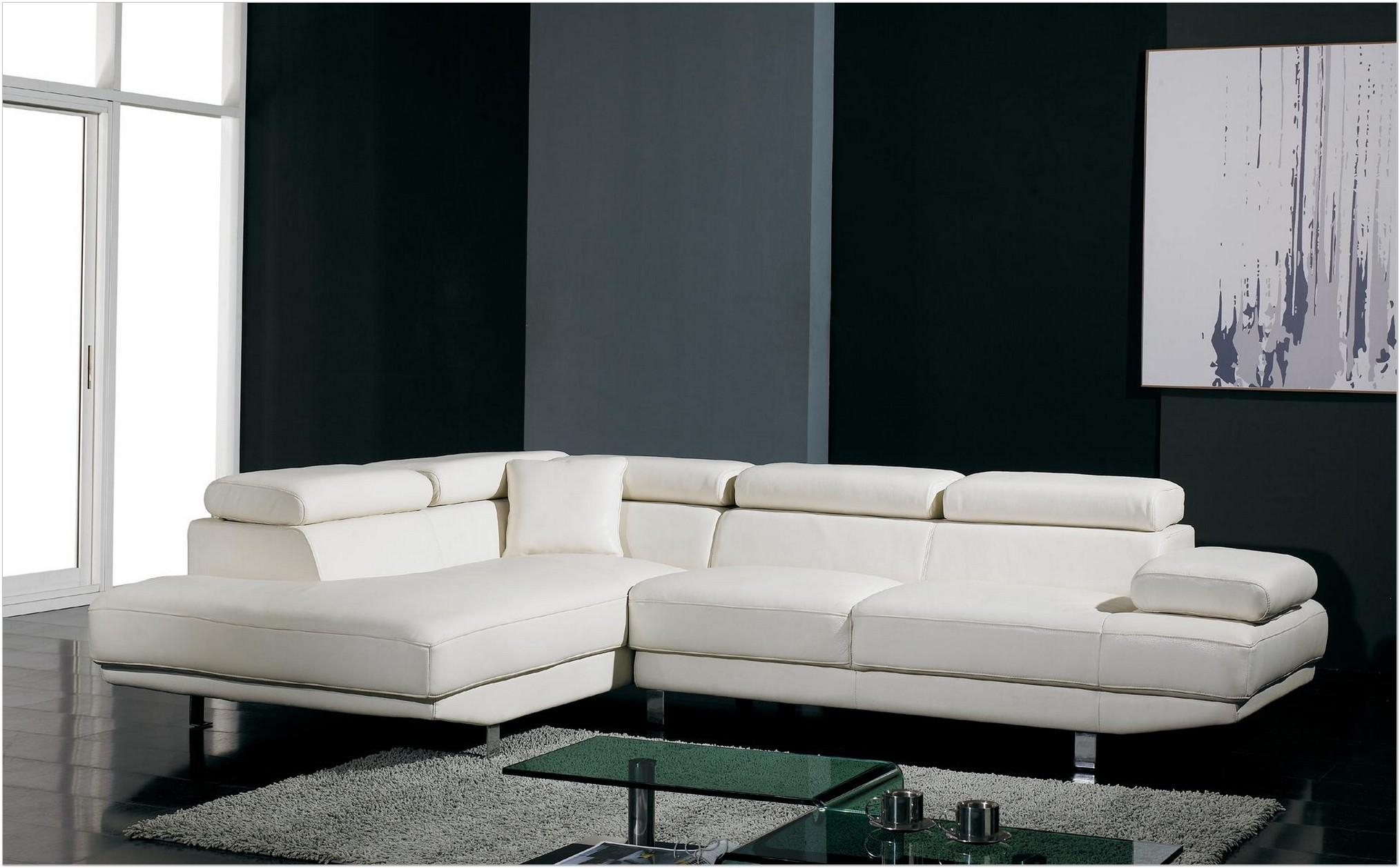 Interior : Modern Couches White Leather Sofa Royal Blue Sectional With Regard To White Modern Sofas (View 12 of 20)