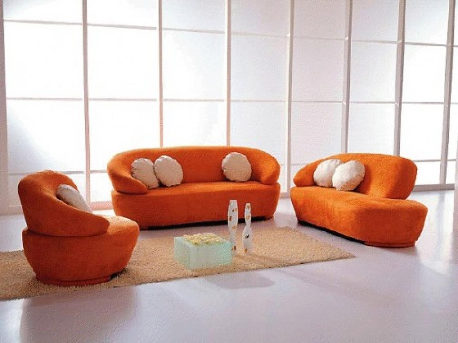 Interior: Orange Living Room Sets Inspirations (Image 9 of 20)