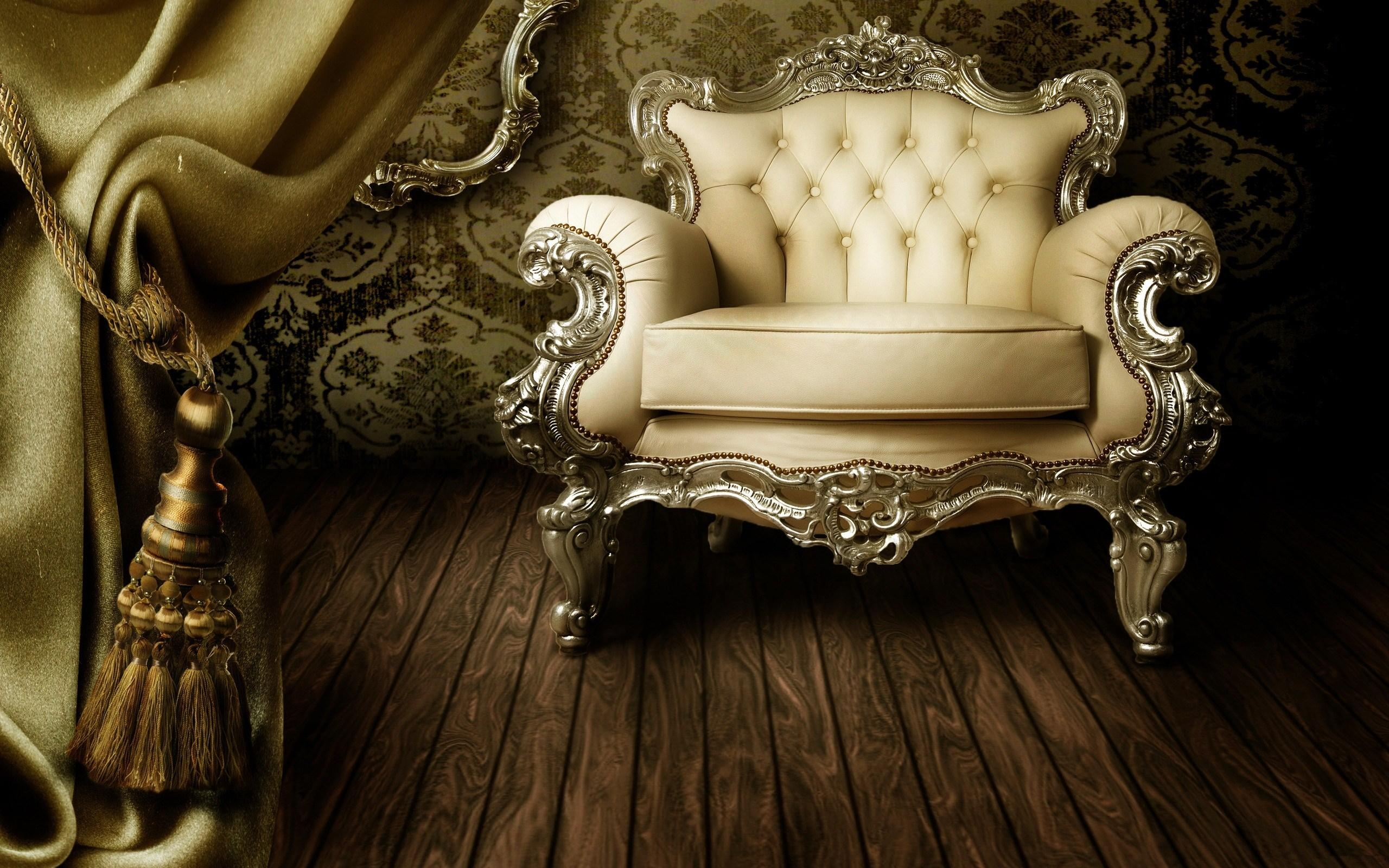 Interior, Retro, Vintage, Classic, Chair, Sofa, Curtain, Floor pertaining to Retro Sofas and Chairs