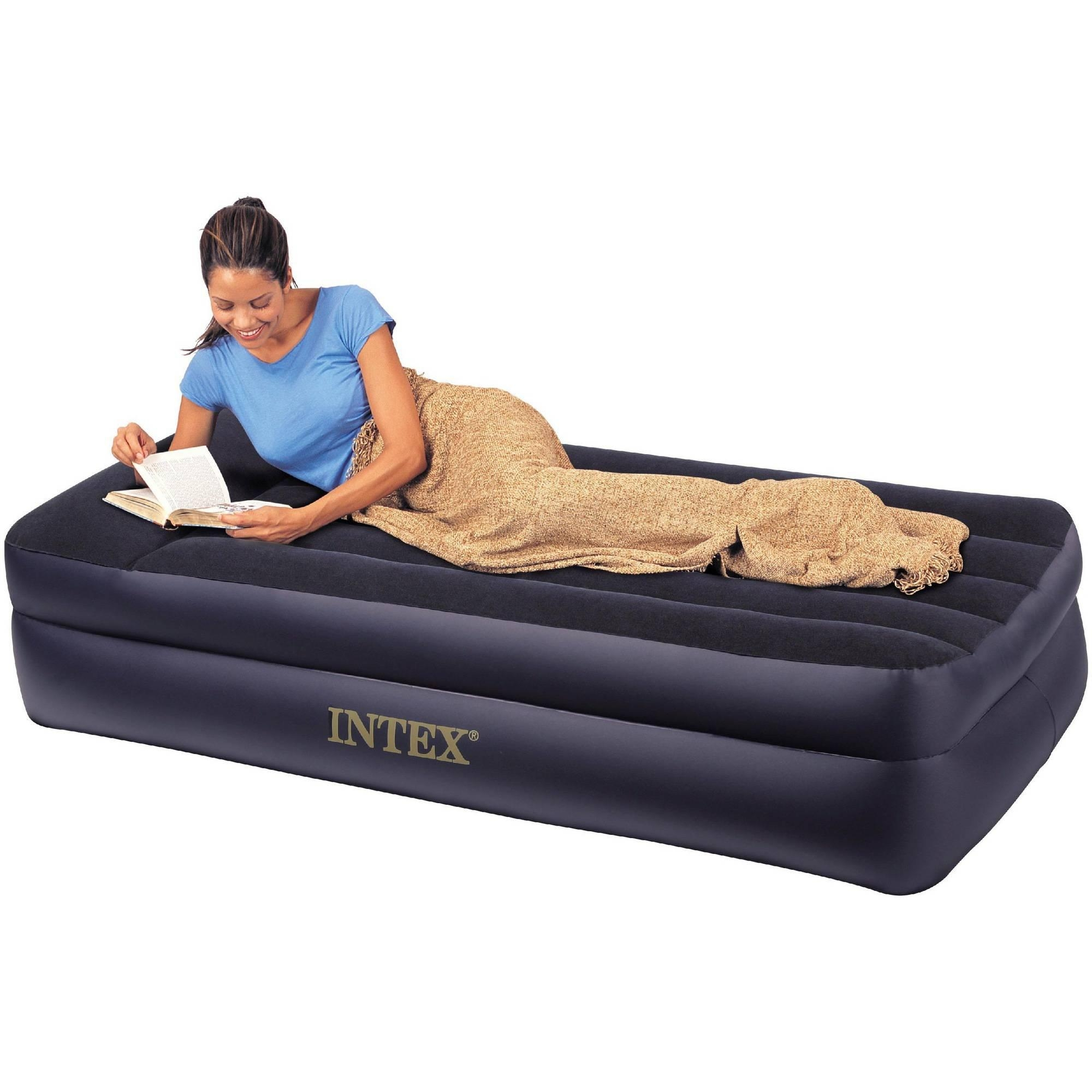 Intex Air Beds Regarding Inflatable Full Size Mattress (Image 4 of 20)