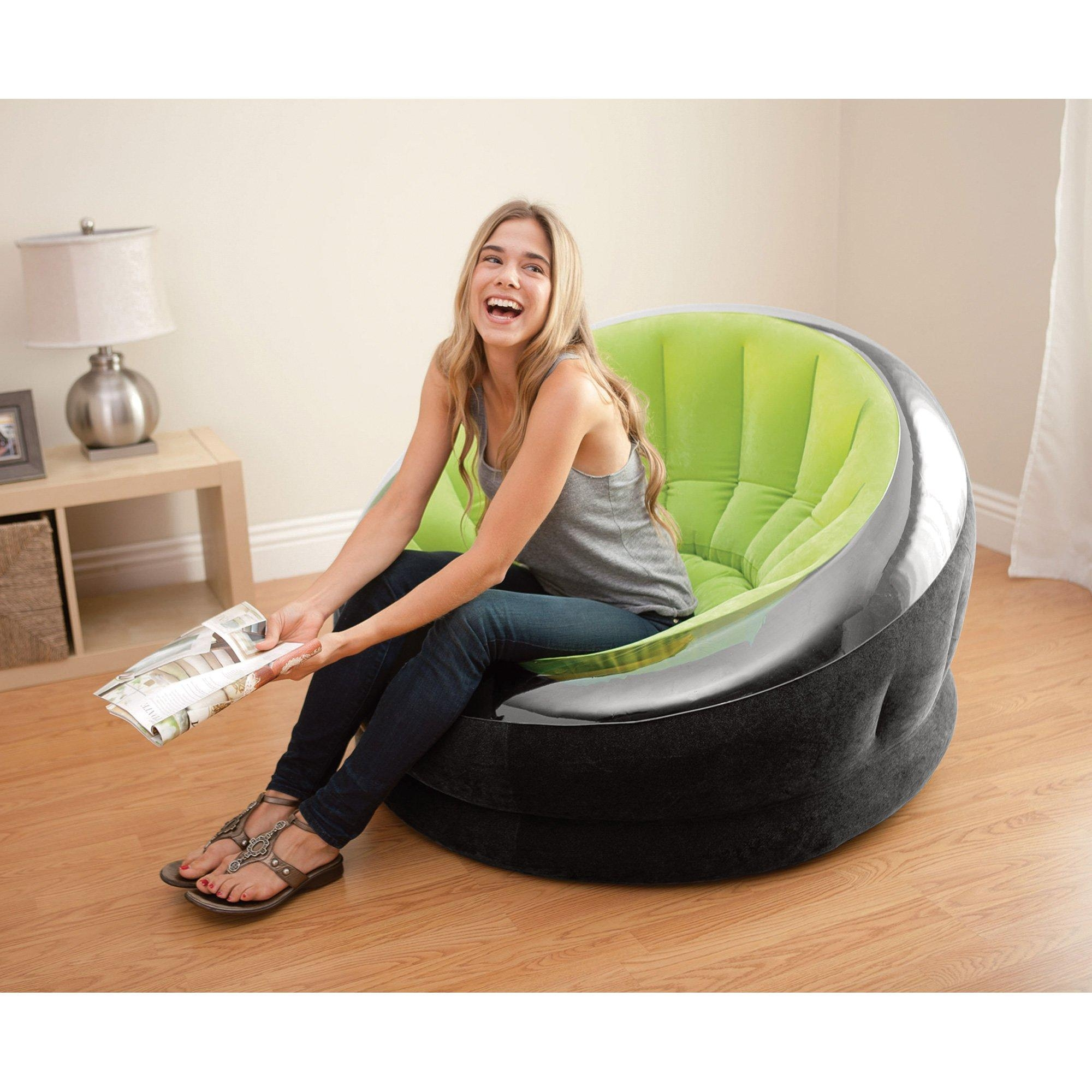 Intex Inflatable Air Chair — Lime Green   Www (View 18 of 20)
