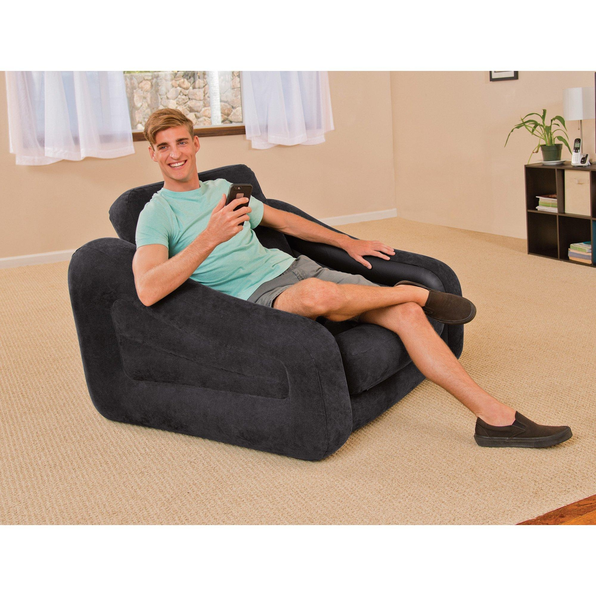 Intex Inflatable Air Chair/twin Mattress | Www (Image 4 of 20)