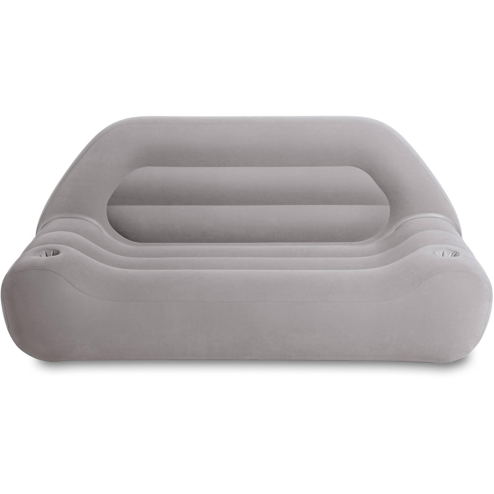 Intex Inflatable Camping Sofa – Walmart Regarding Intex Inflatable Sofas (Image 5 of 20)