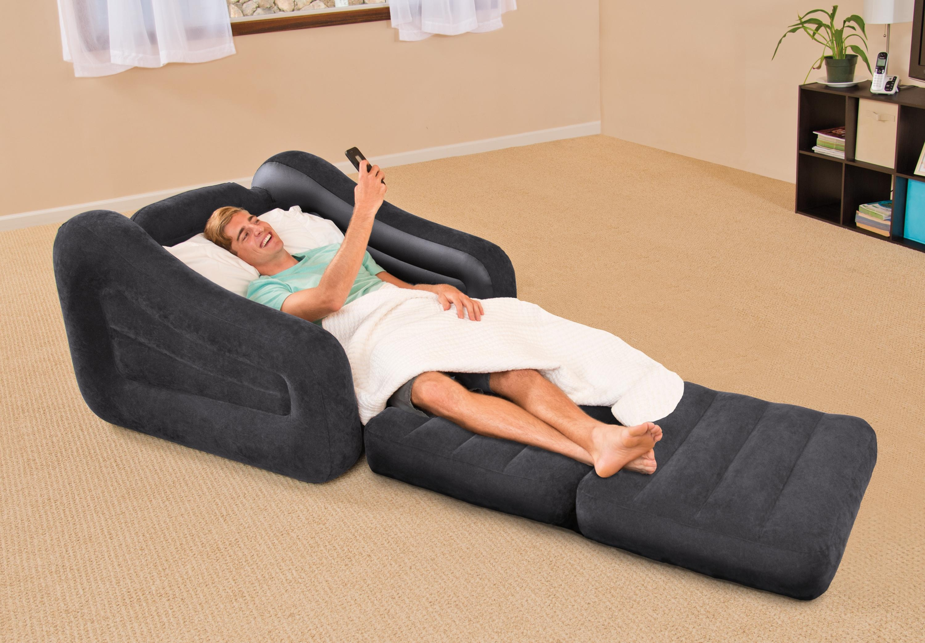 Intex Inflatable Pull Out Chair – Walmart Regarding Intex Inflatable Pull Out Sofas (Image 9 of 20)