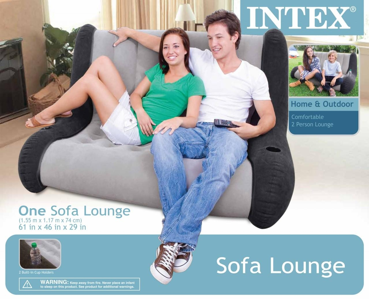 Intex Inflatable Sofa Lounge Intended For Intex Inflatable Sofas (Image 13 of 20)