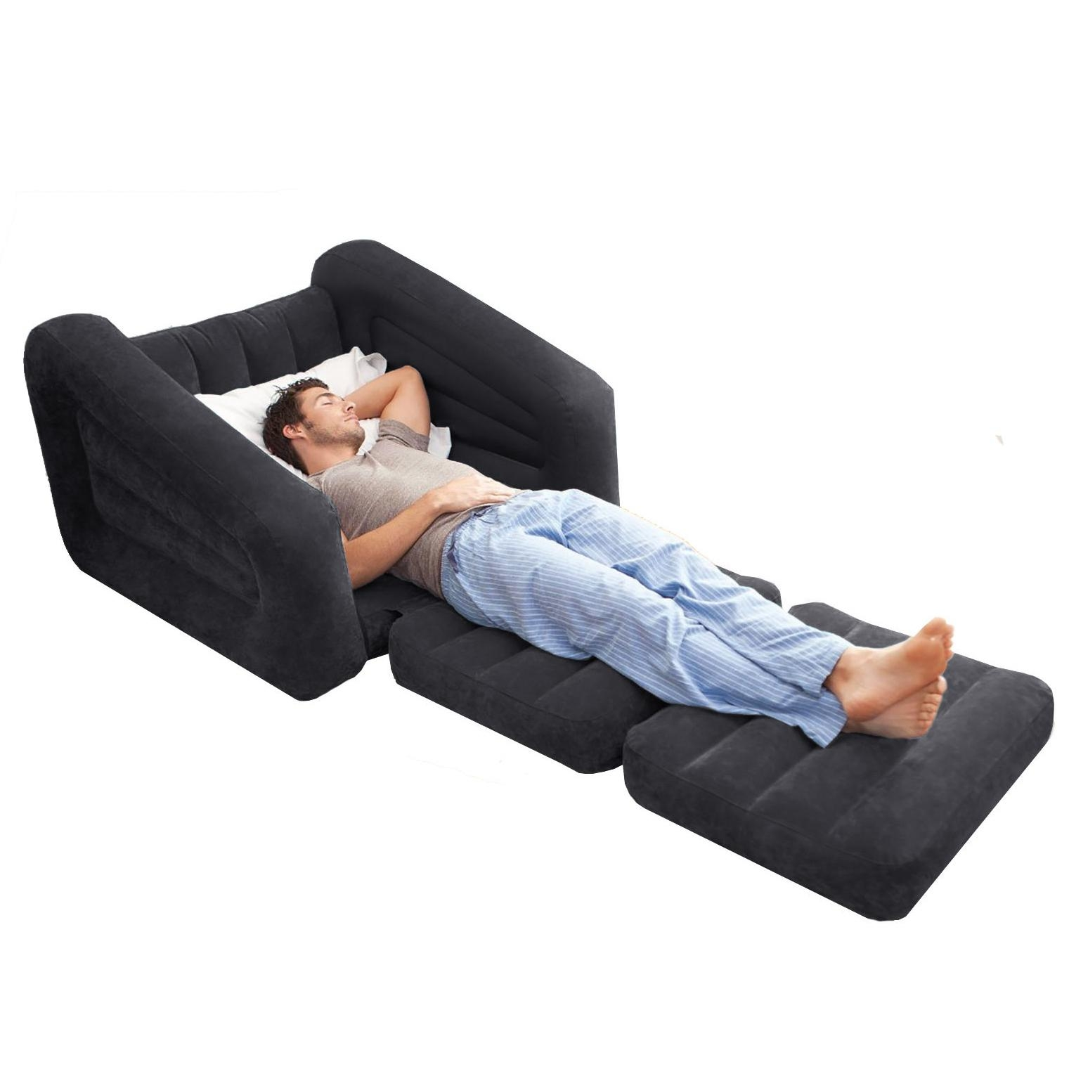 Intex Sofa Air Bed Intex Pull Out Sofa Air Beds And Pillows Pertaining To Intex Pull Out Chairs (View 15 of 20)