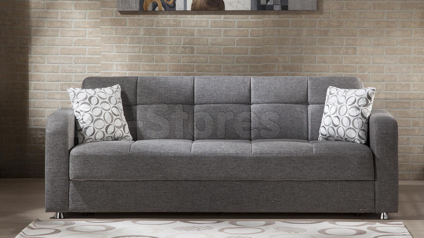 Istikbal Vision Sofa Sleeper | Diego Gray | Sofa Beds 10 Vis S1401 In San Diego Sleeper Sofas (Image 4 of 20)